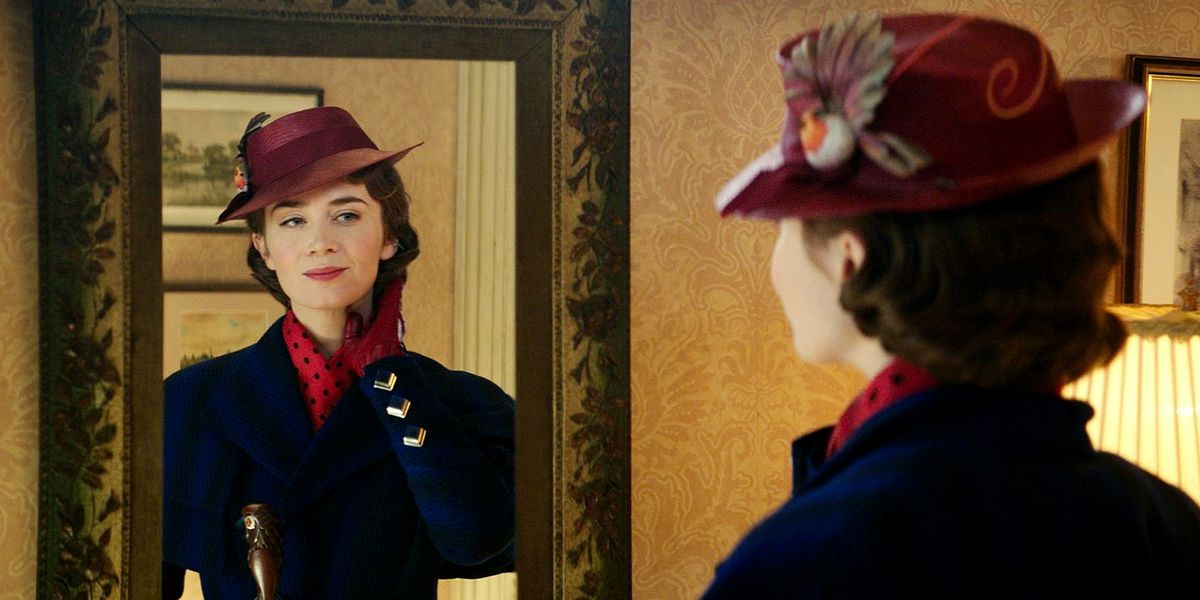 Emily Blunt is the new Mary Poppins in Mary Poppins Returns.