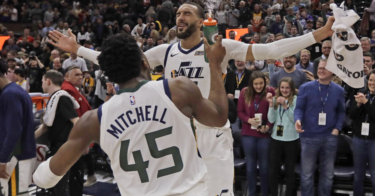 From G League to All-Star, Rudy Gobert says Donovan Mitchell and Quin Snyder saved his career