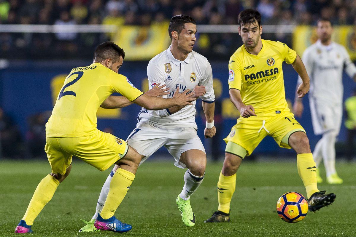 2016-17 La Liga - Villarreal CF vs Real Madrid
