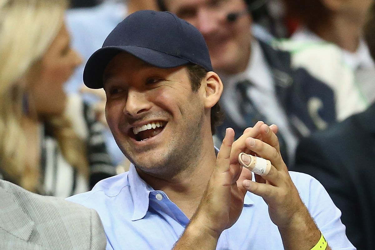 Tony Romo will be honorary Dallas Maverick for a day, dressed up and on the bench - SBNation.com