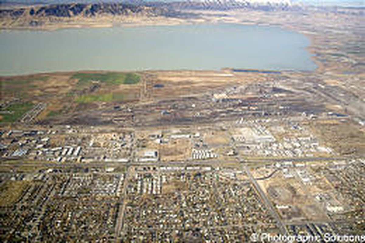 Geneva Steel's 1,700 acres may be developed for residential, commercial and light industrial uses.