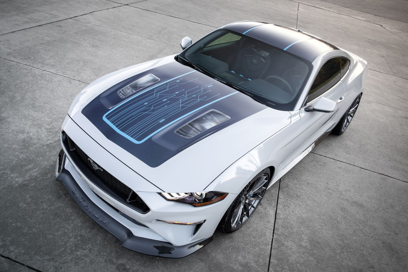Ford Made An Electric Mustang With A Manual Transmission The Verge