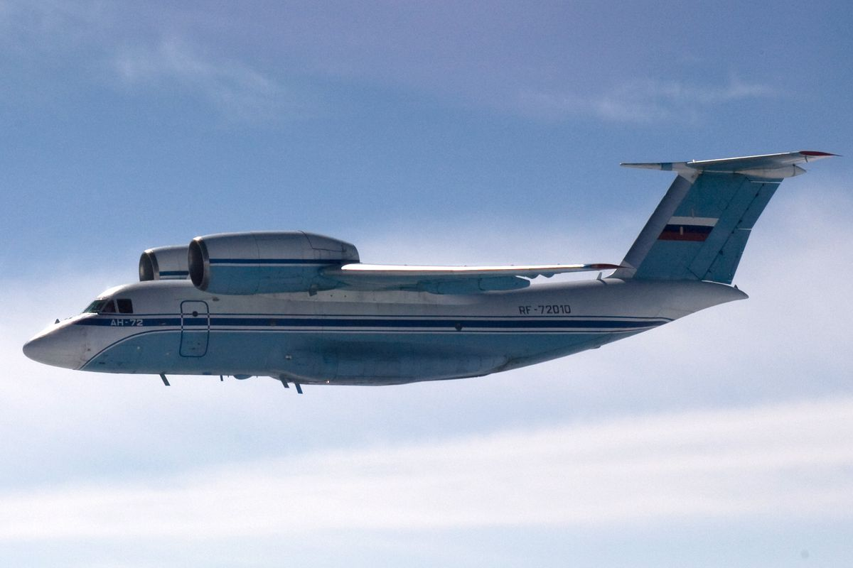Russian An-72 transport plane found in Finnish airspace