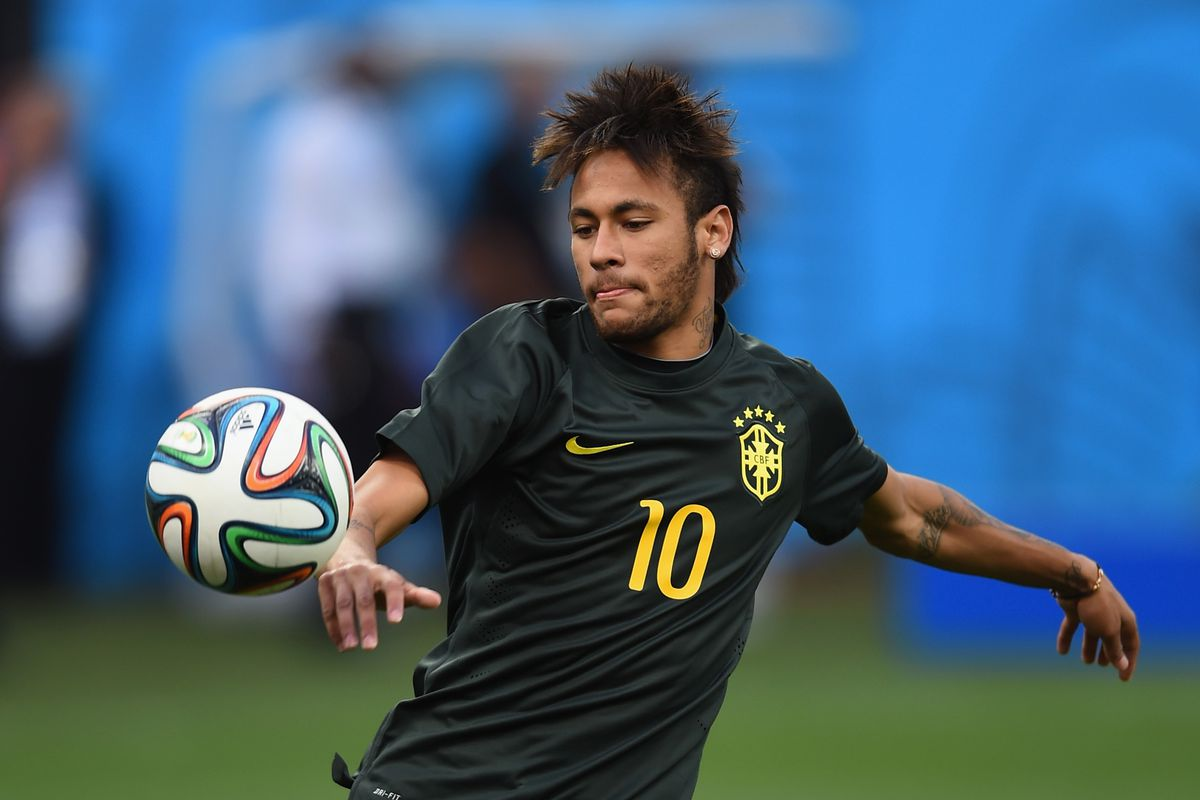 Neymar prepares for his country's first hosting duties in 64 years.