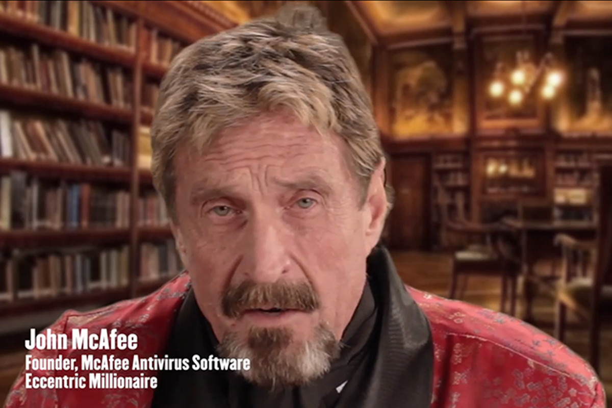 Bath salts and booty: watch a drug-fueled John McAfee