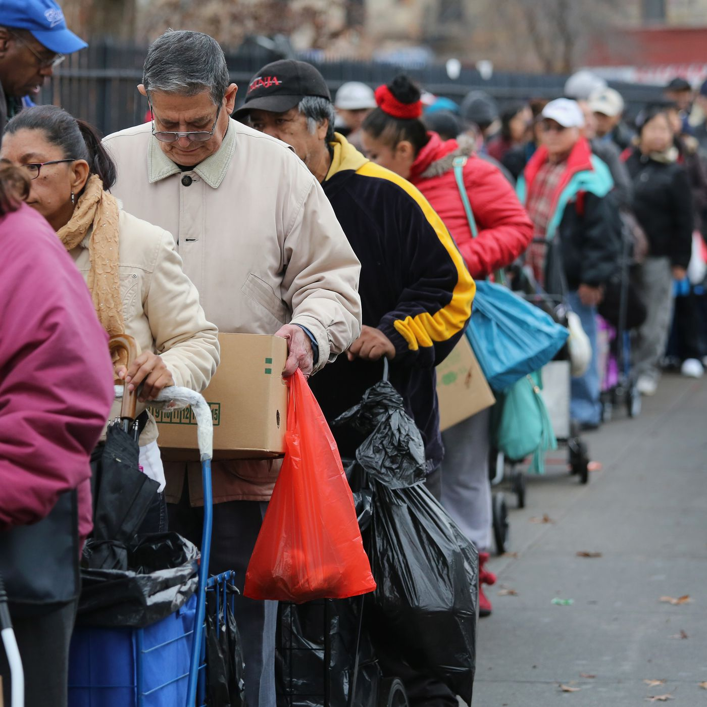 Government shutdown: people on food stamps, or SNAP, could be hit