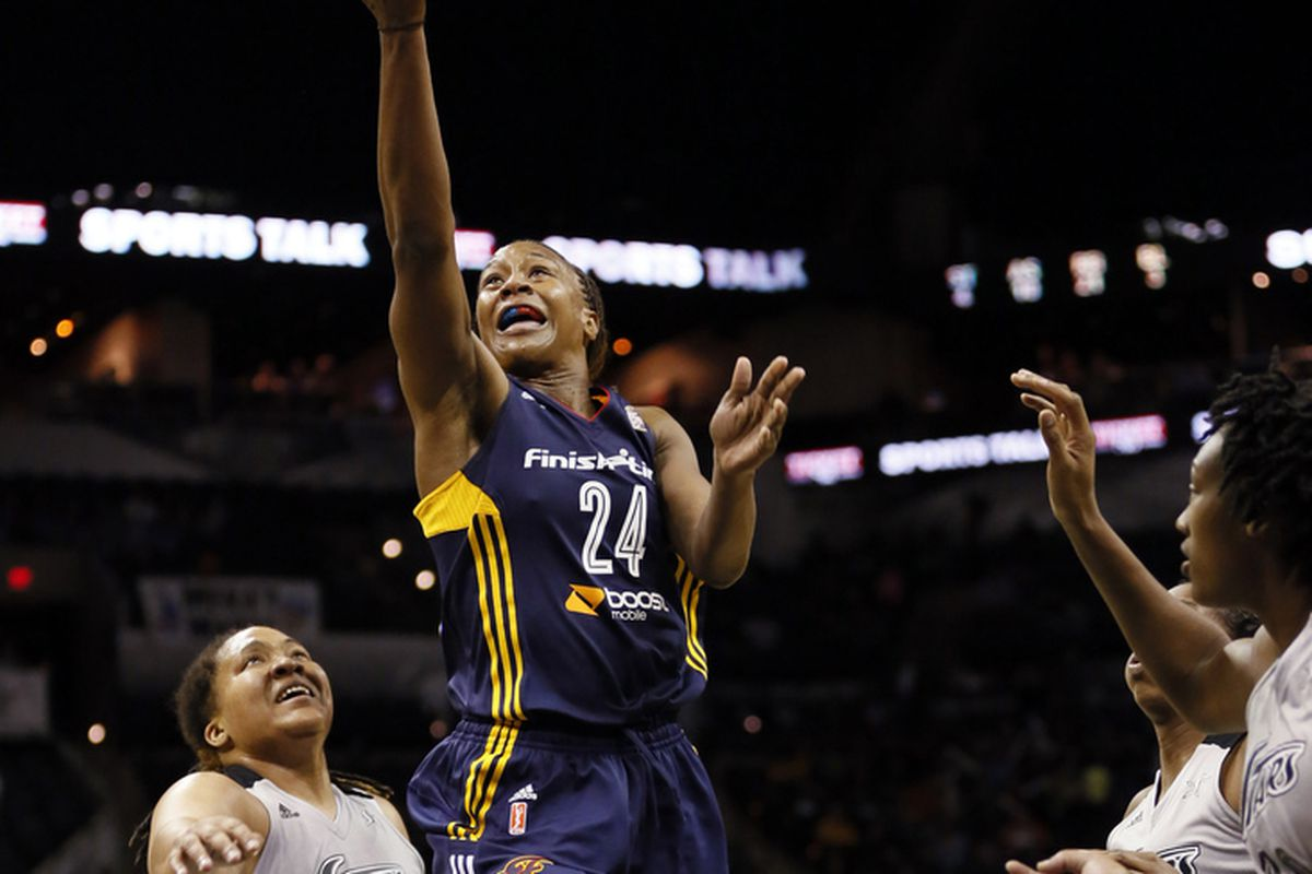 Can Tamika Catchings lead the Indiana Fever back to the WNBA Finals?