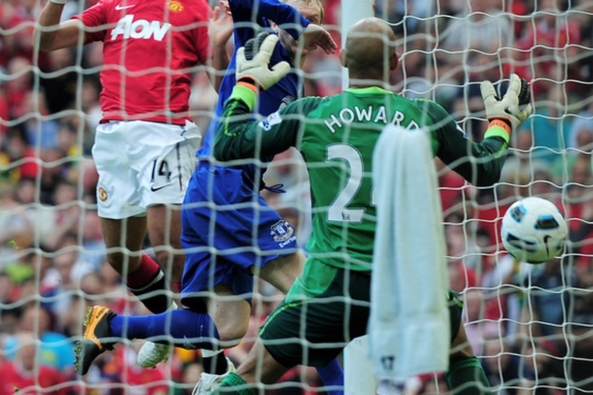 Little Pea rises high - Javier Hernandez heads home the winner.