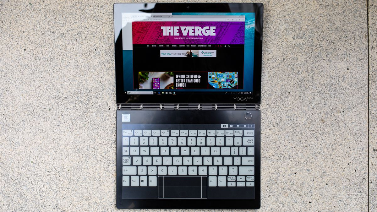 Lenovo Yoga Book C930 review: two screens and lots of compromises