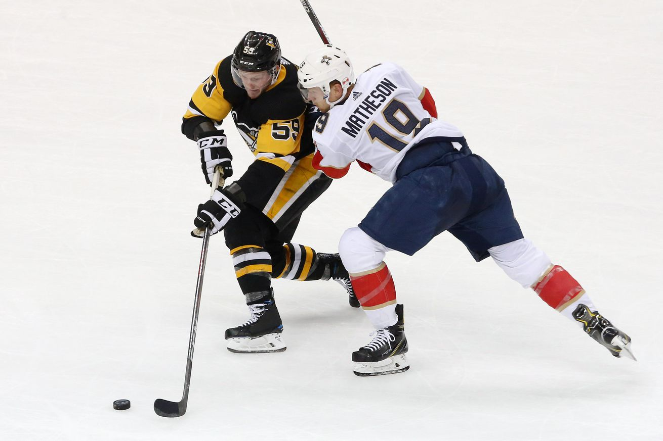 NHL: Florida Panthers at Pittsburgh Penguins