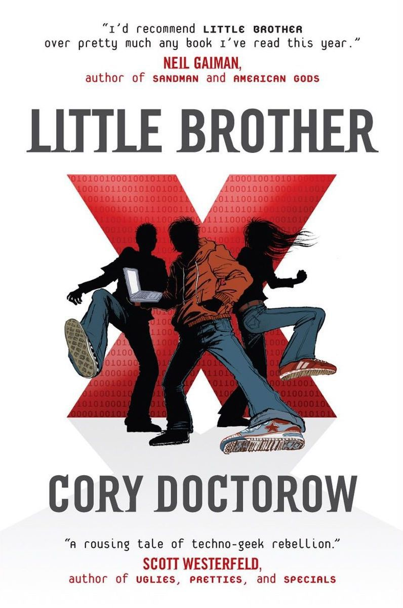 The cover of Cory Doctorow's Little Brother