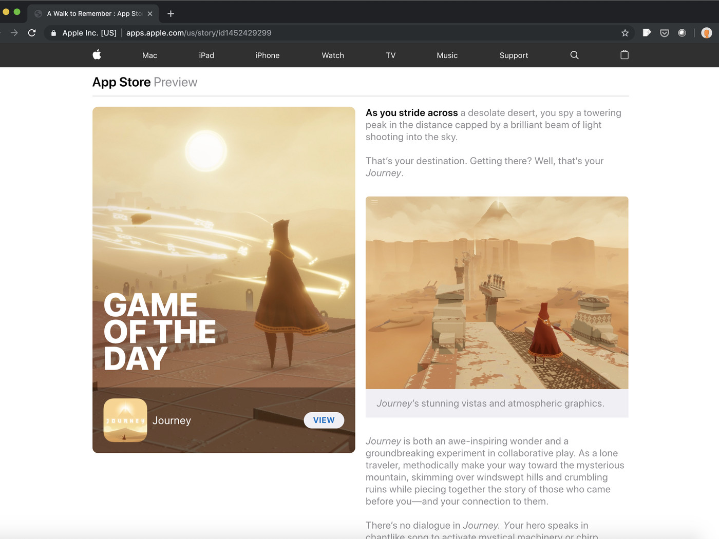 Apple S Editorial App Store Today Stories Now Work In Web
