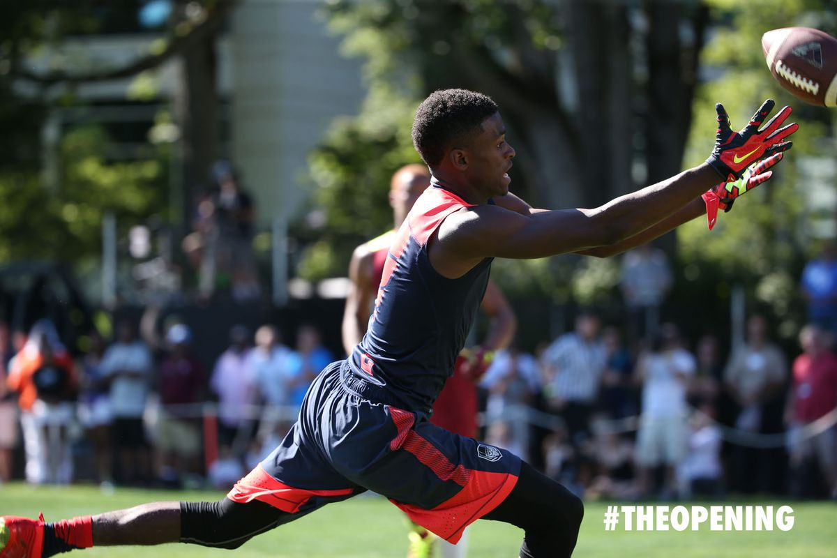 Van Jefferson at the Opening