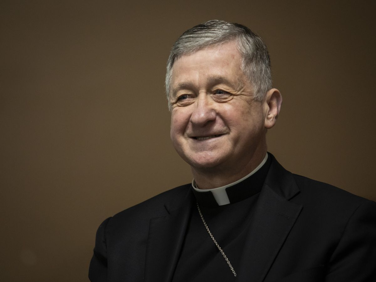 """Cardinal Blase Cupich: """"This moment is really forcing all of us to realize we are all connected."""""""