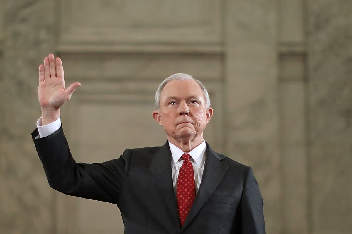 Sen. Jeff Sessions Testifies At His Senate Confirmation Hearing To Become Country's Attorney General