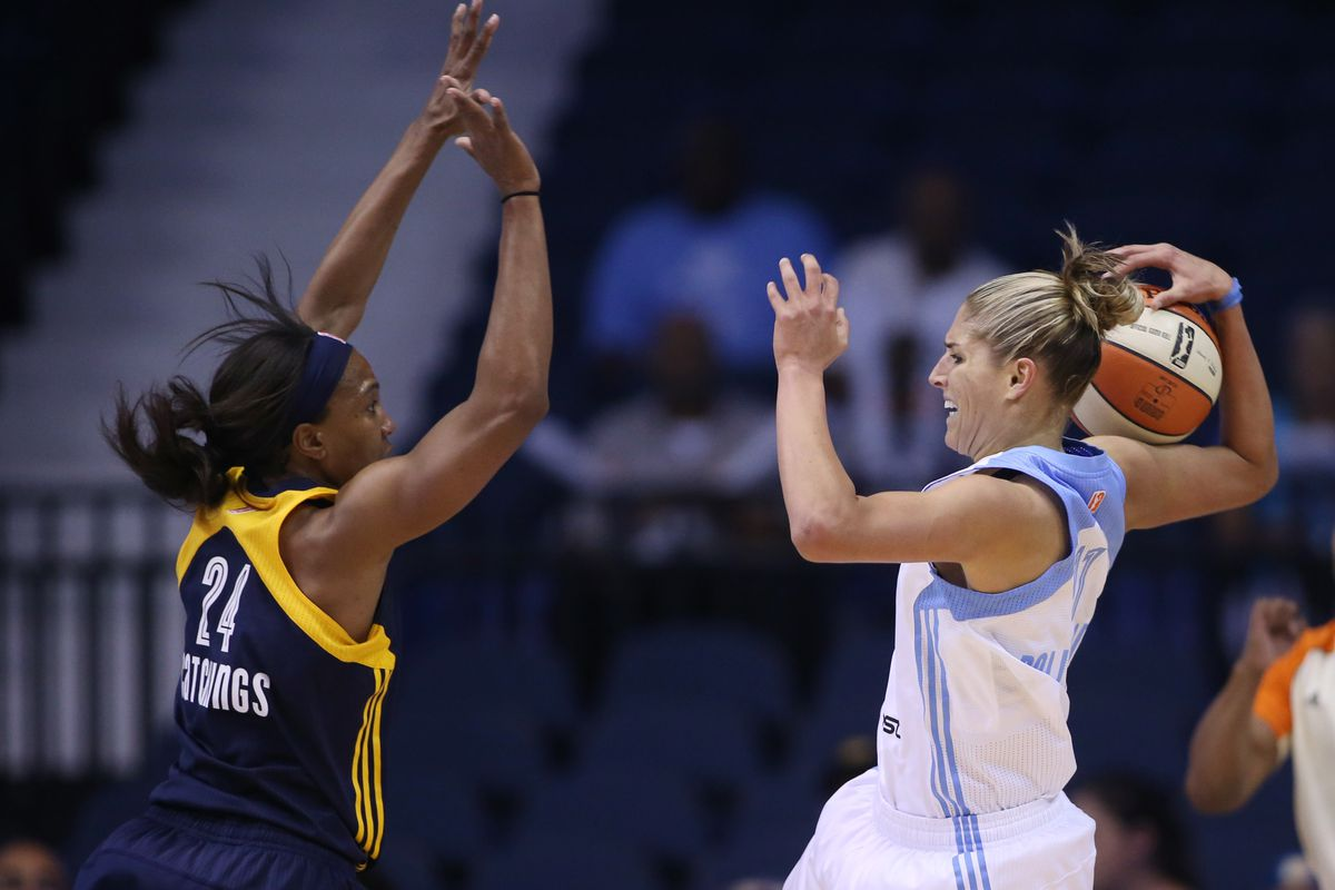 After being swept by the Indiana Fever last year, Elena Delle Donne and the Chicago Sky have a shot at revenge this season.