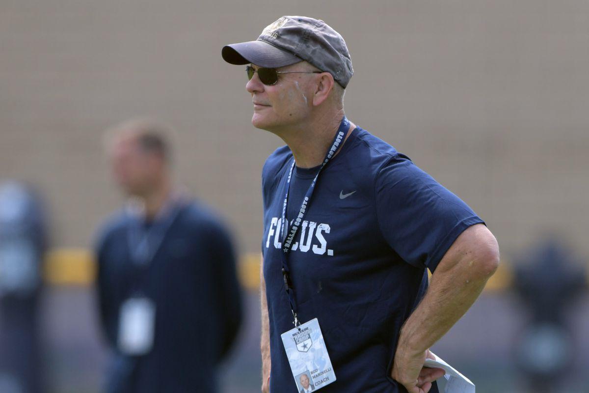 dbc4e798 Dallas Cowboys coaching spotlight: Defensive coordinator Rod Marinelli