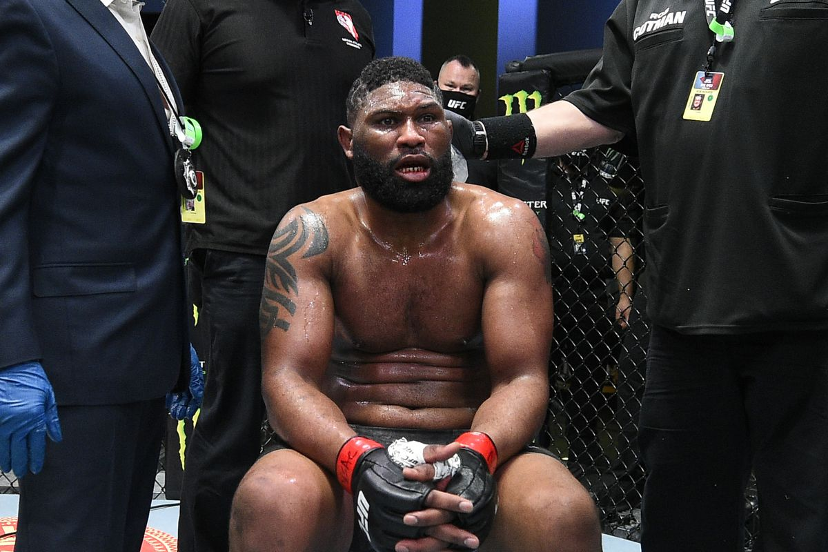 Monday Morning Hangover: What's next for Curtis Blaydes after KO loss at UFC Vegas 19? - MMAmania.com