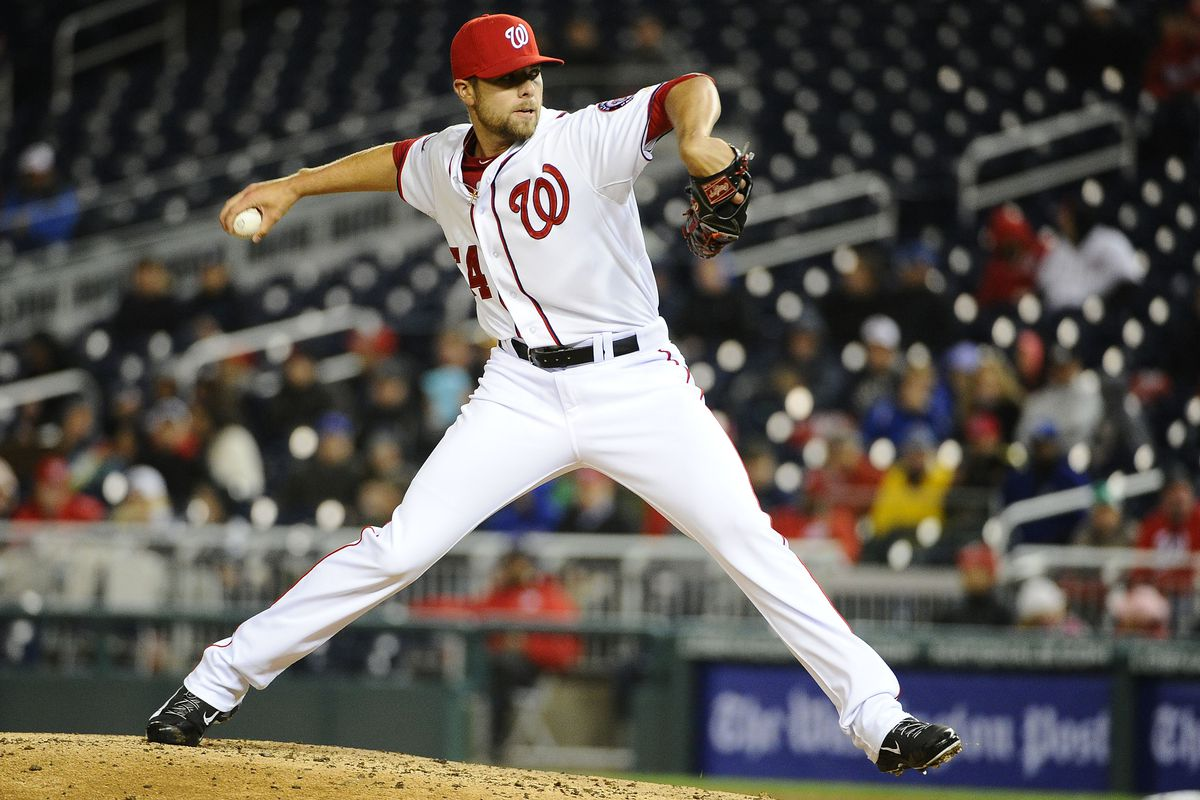 Blake Treinen looked pretty comfortable pitching the eighth inning in last night's 2-1 win over the Mets. Still, with Granderson and Duda scheduled to bat in the inning, Matt Williams should have gone to Matt Thornton.