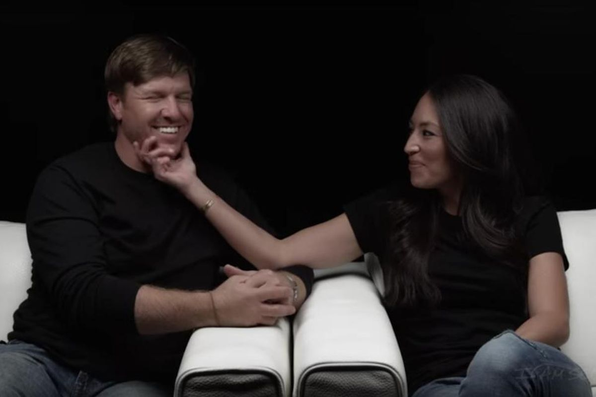 Chip and Joanna Gaines discuss how their relationship has brought them closer to God.