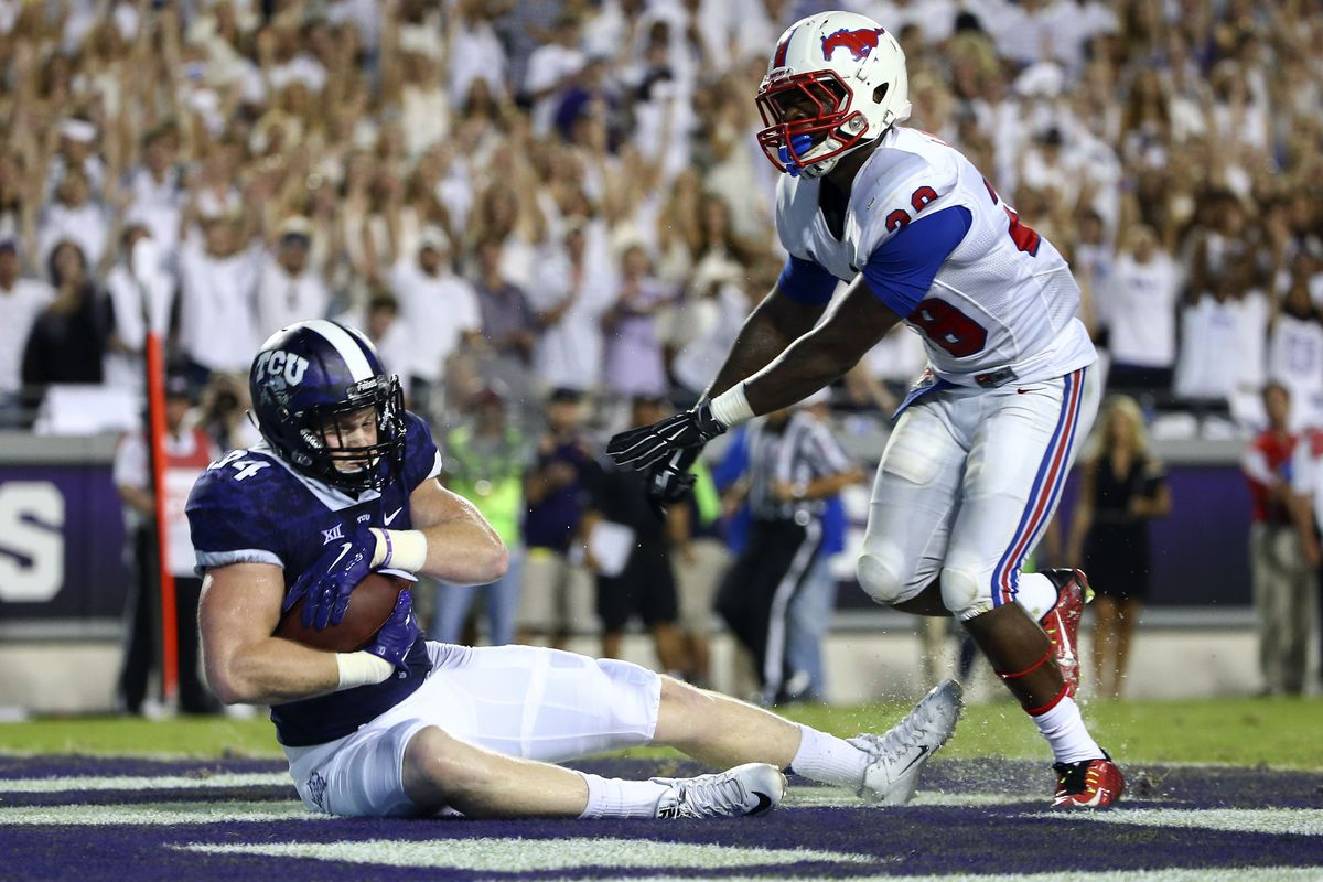 Is TCU's grip on the #1 spot as secure as this ball?