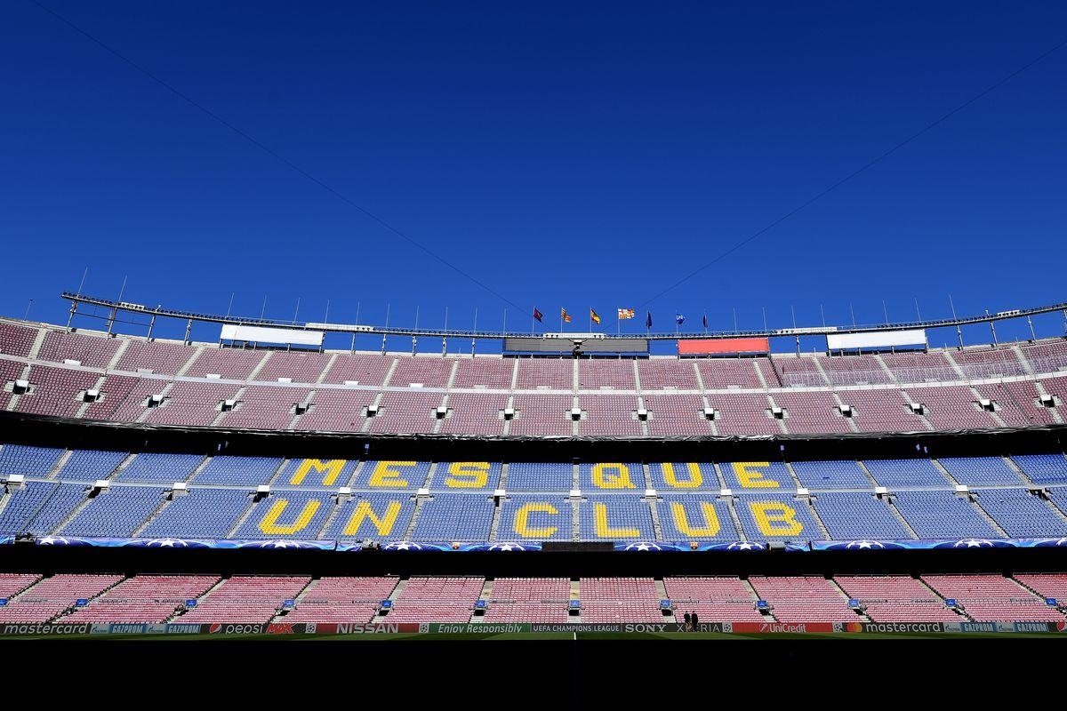 FC Barcelona v AS Roma - UEFA Champions League Quarter Final Leg One