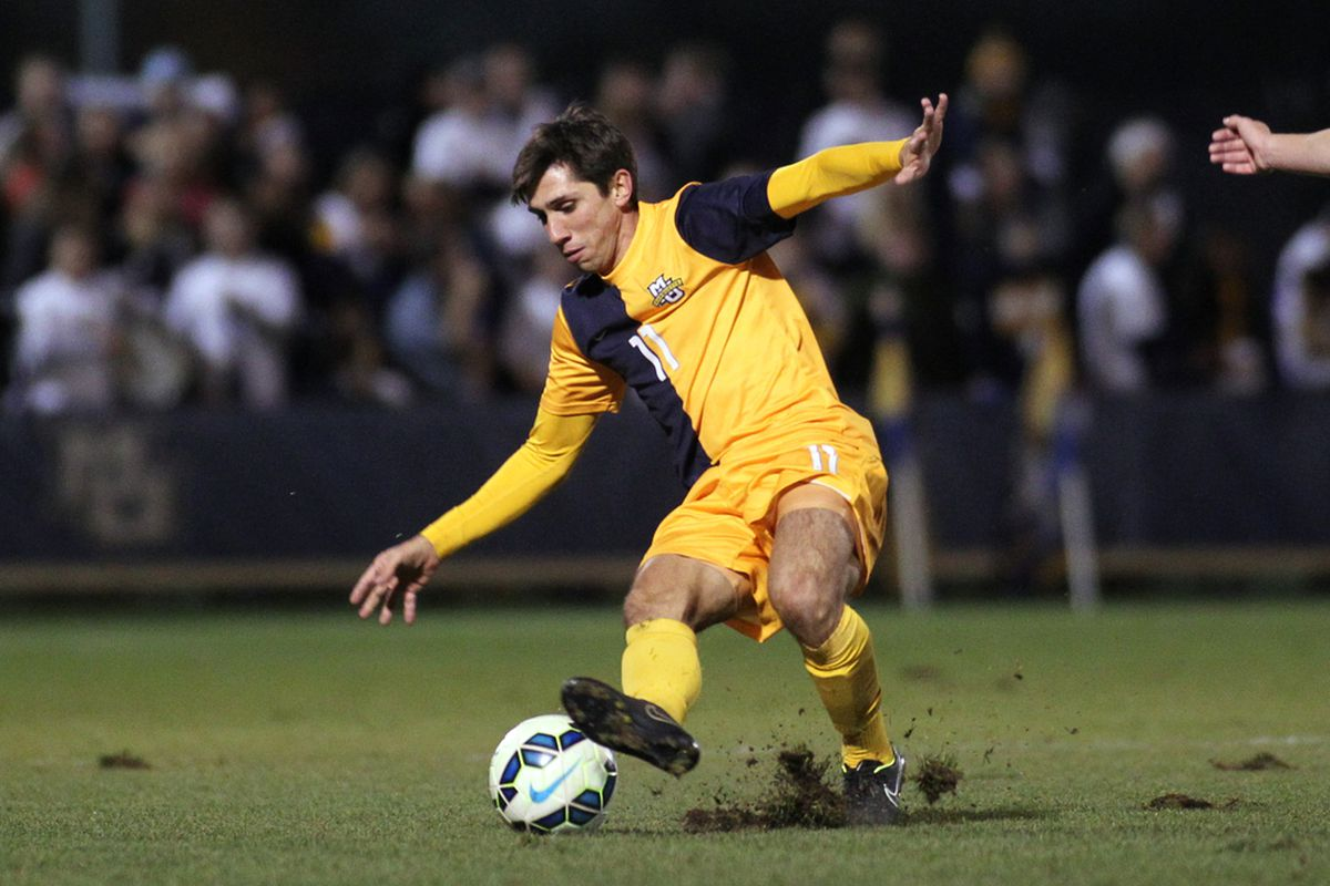 Luis Trude and Marquette will have to take the long way to their second straight Big East title match.
