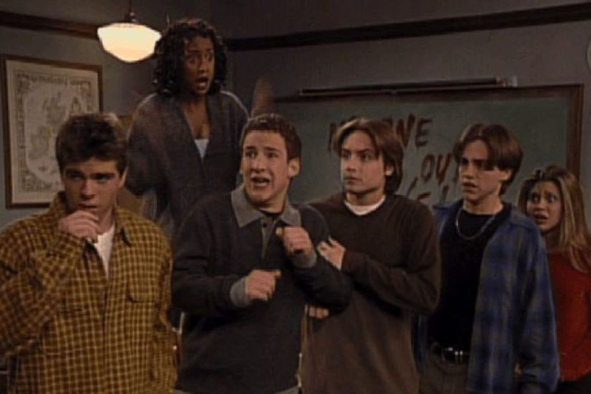 In Boys Meets World, Shawn feels that no one cared for him. Therefore, he decides to join a cult.