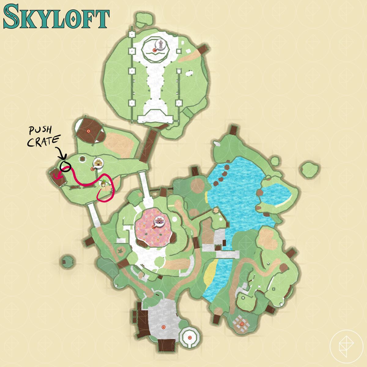 Skyloft – Zelda: Skyward Sword HD walkthrough