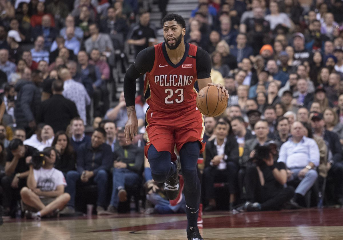 NBA: New Orleans Pelicans at Toronto Raptors