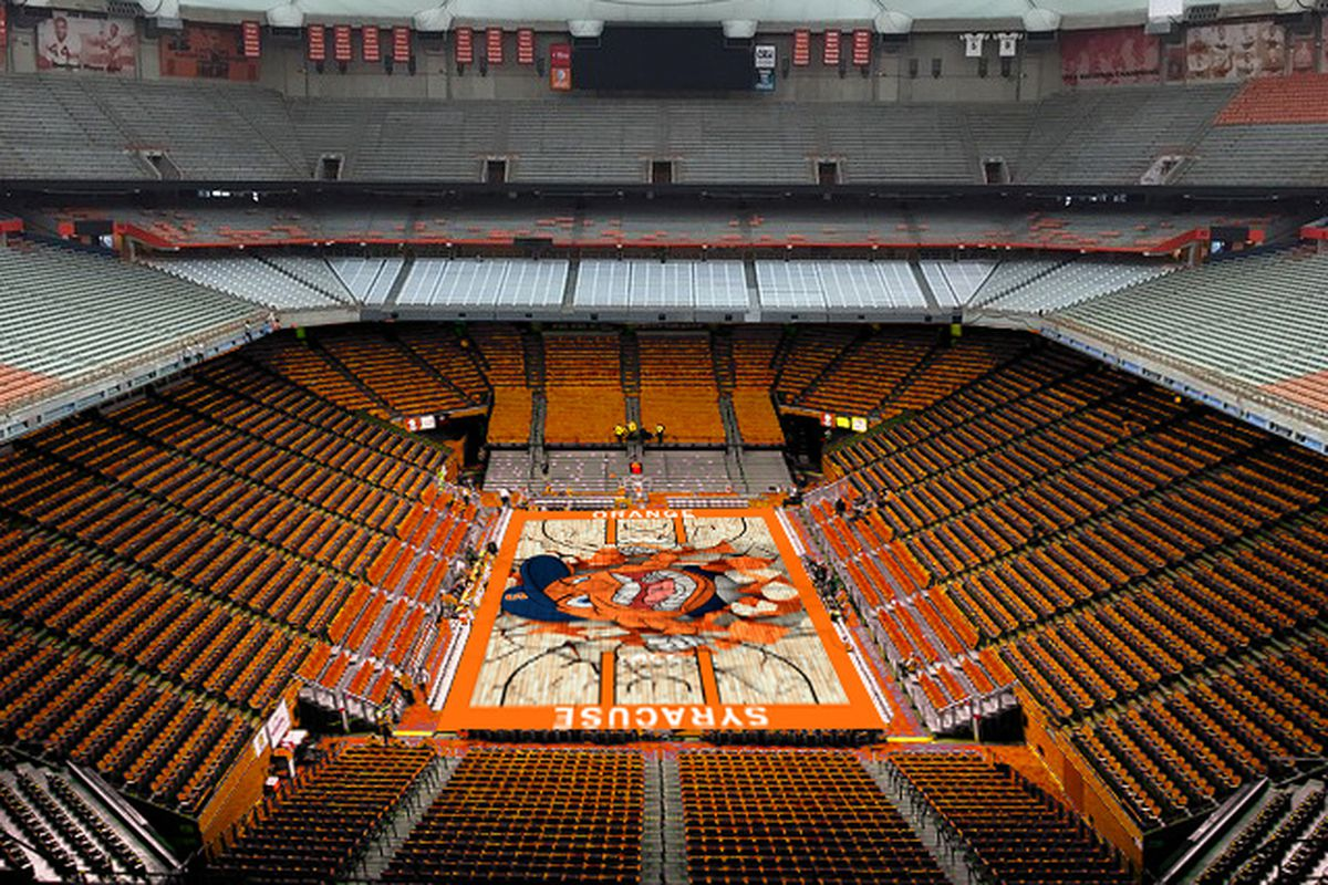 Is This What A Carrier Dome Center Court Could Look Like