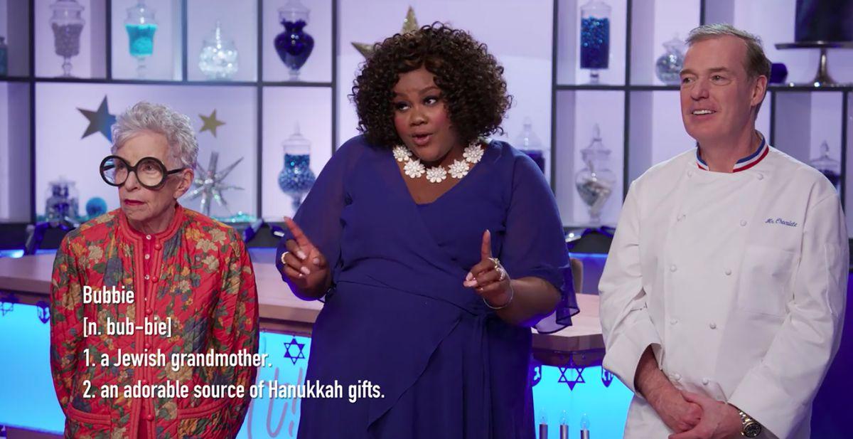 Christmas Cookie Challenge Judges.Nailed It Holiday Has Lauren Lapkus And Jason Mantzoukas