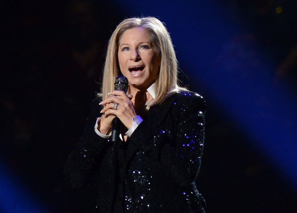 In this Oct. 11, 2012, file photo, singer Barbra Streisand performs at the Barclays Center in the Brooklyn borough of New York. |Photo by Evan Agostini/Invision/AP, File