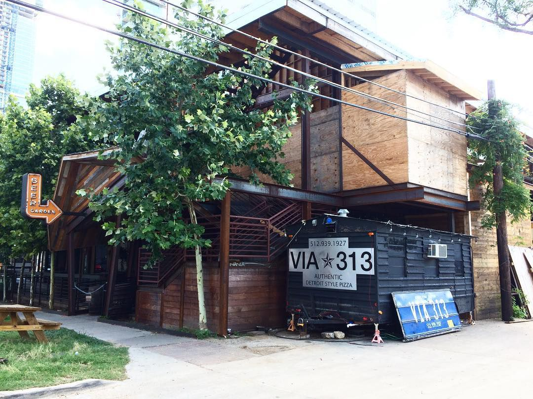 Via 313's new home at Buford's Beer Garden
