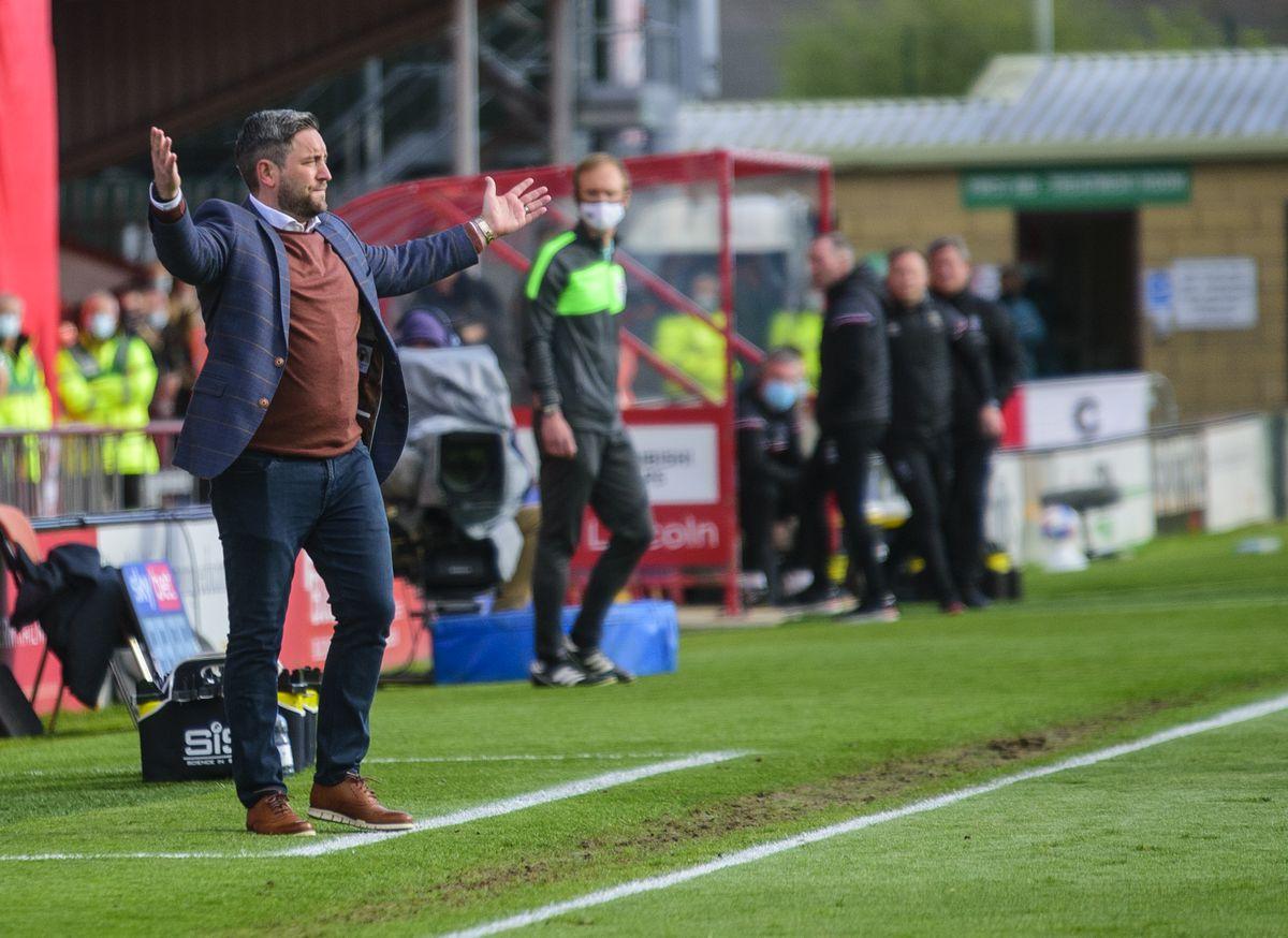 Lincoln City v Sunderland - Sky Bet League One Play-off Semi Final 1st Leg
