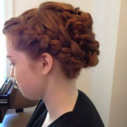 """""""Braids are also really in!"""" <br></br> [Image credit: <a href=""""http://molanahairsalon.com/"""">Molana Hair Design Salon</a>]"""