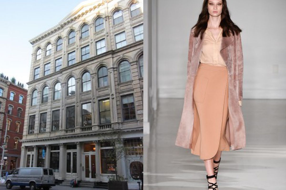 """Photos: Left: Jill Stuart; Right: <a href=""""http://www.style.com/slideshows/fashion-shows/spring-2015-ready-to-wear/jill-stuart/collection/5"""">Style.com</a>"""