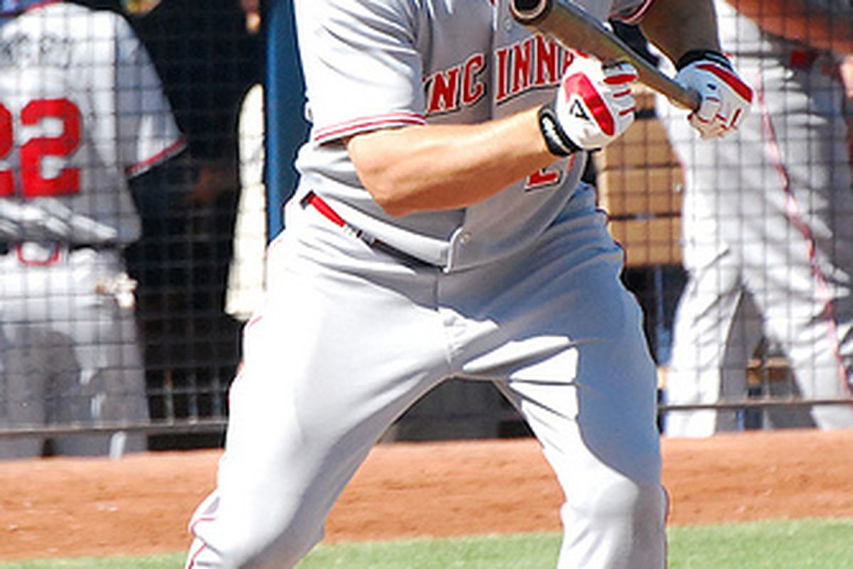 Chris Heisey loves the Arizona air.  Does that bode will for his chances in spring training?