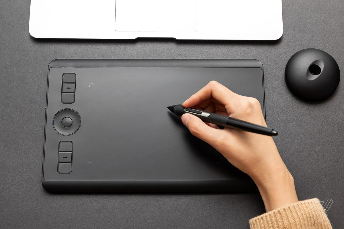 Wacom's refreshed Intuos Pro Small is a portable drawing tablet for
