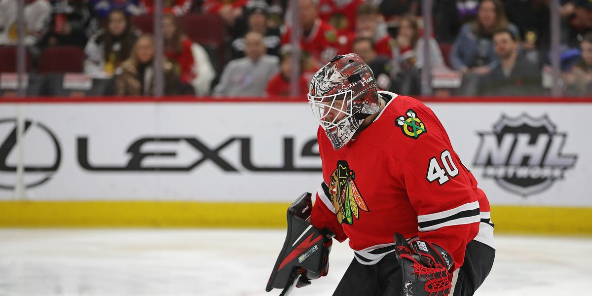 Blackhawks' quiet minor-league signing might hint at long-term goalie outlook