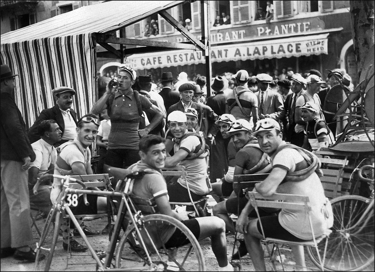 TOUR DE FRANCE CYCLISTE-1934