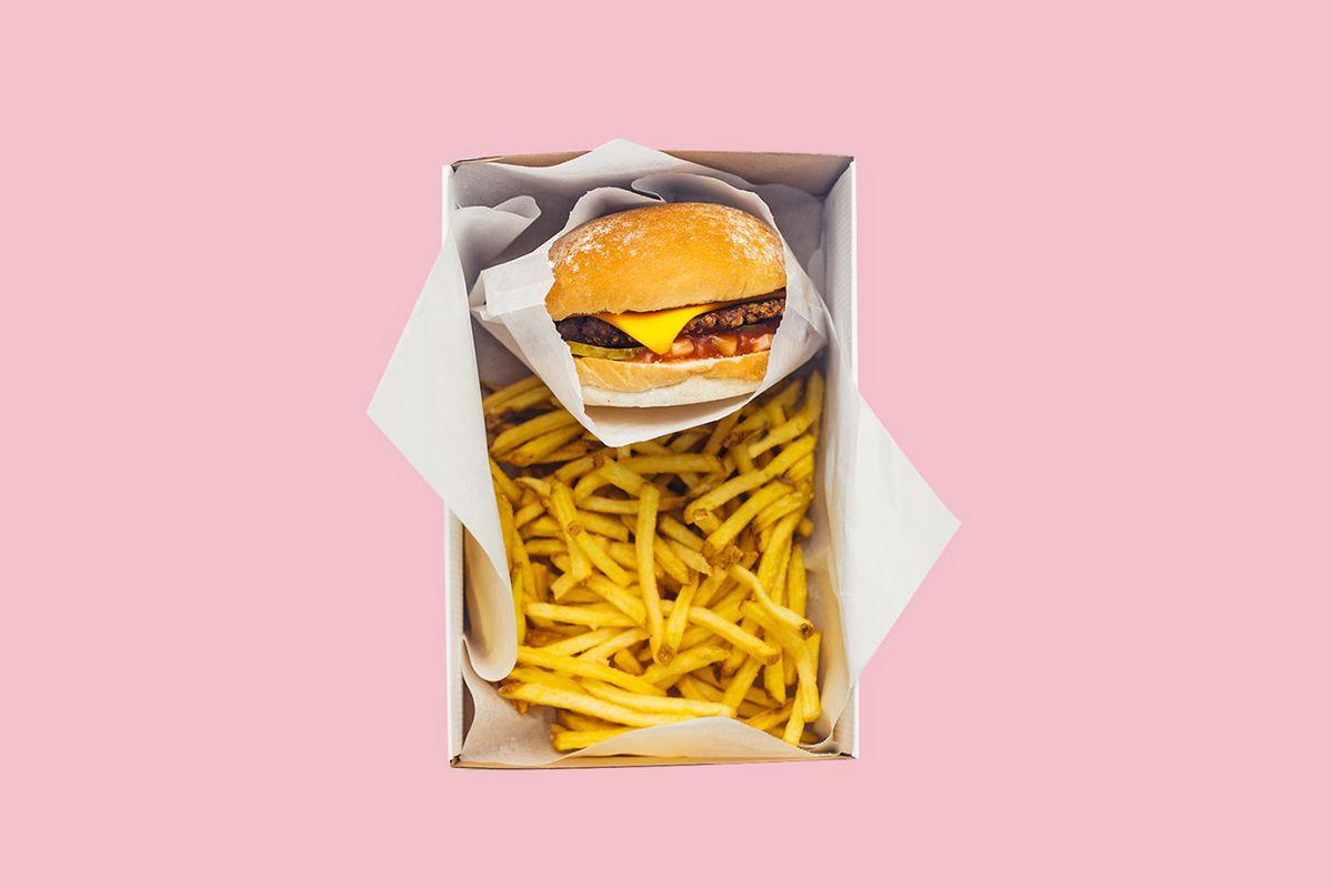 Neat Burger at Lewis Hamilton's vegan burger restaurant, Neat Burger