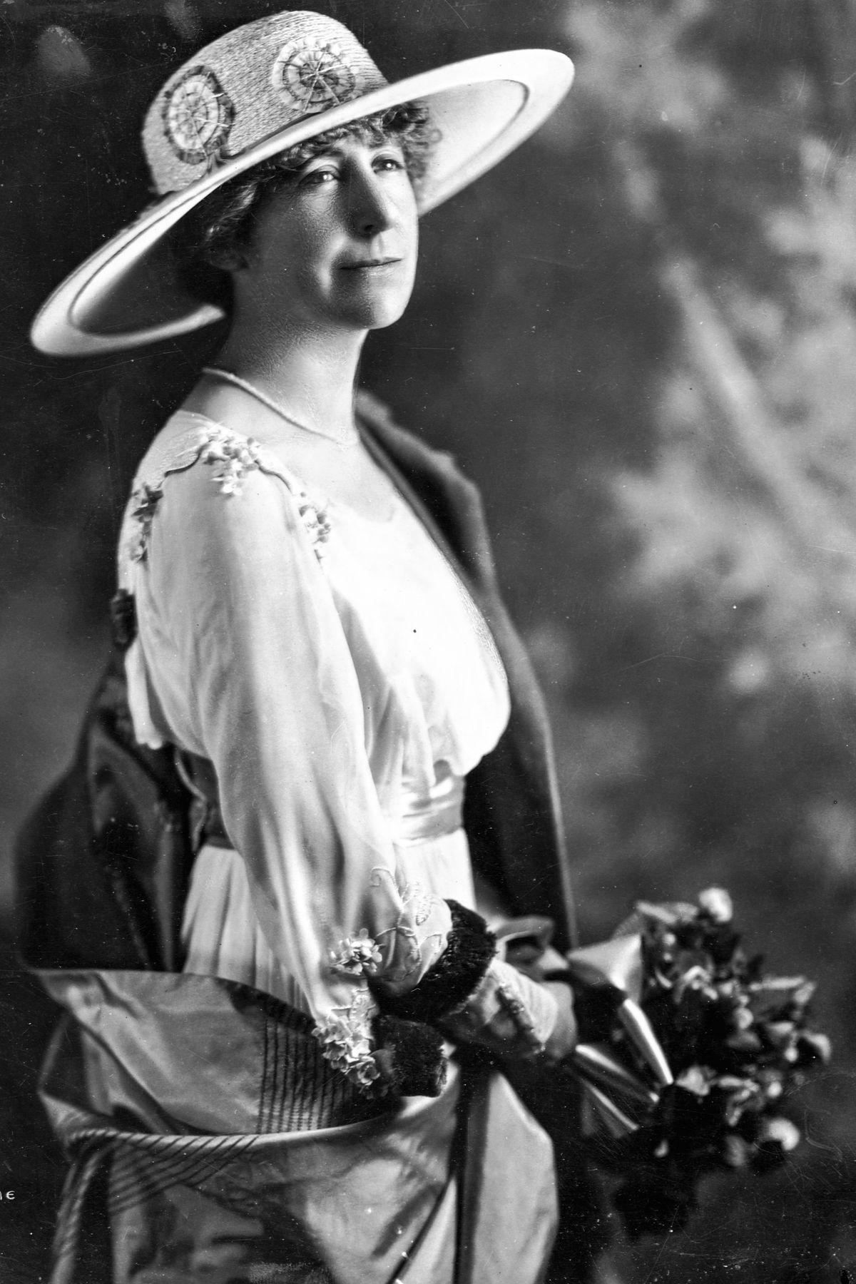 Rep. Jeannette Rankin, circa 1917