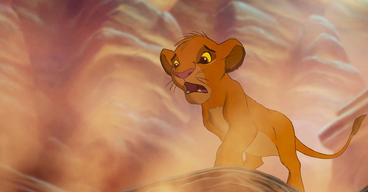 The curious case of dust in The Lion King