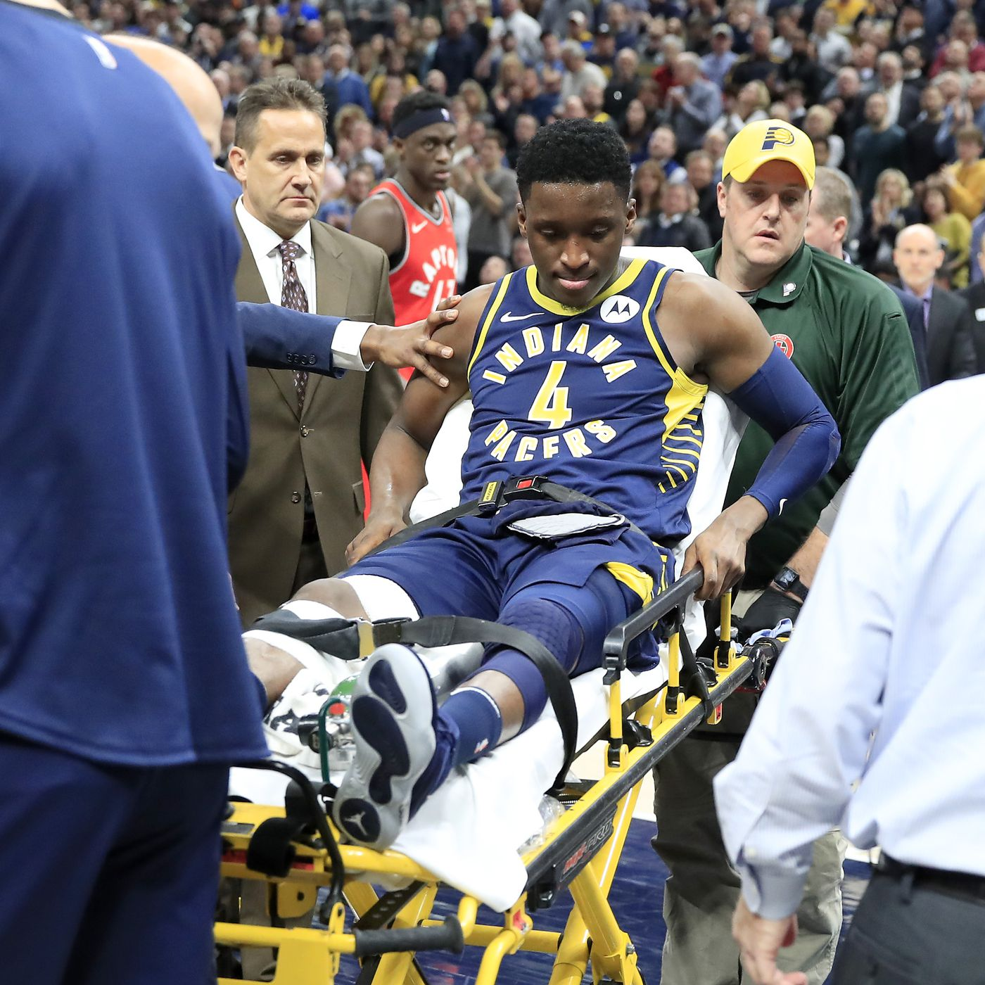 1fdd91e45b35 The Pacers had to rally after Victor Oladipo s injury. Players explain why  that s so hard.