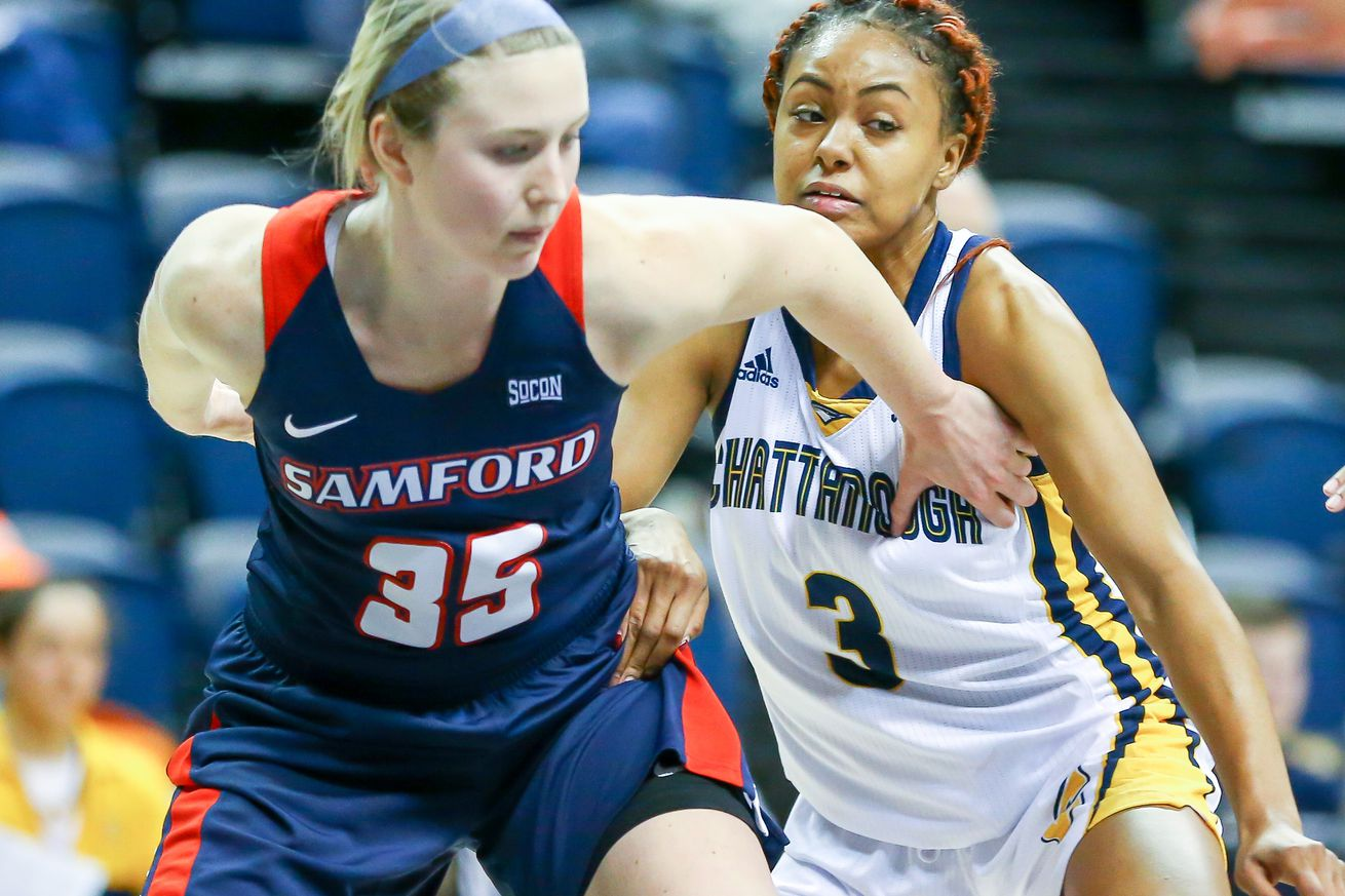 COLLEGE BASKETBALL: JAN 25 Women's - Samford at UT-Chattanooga