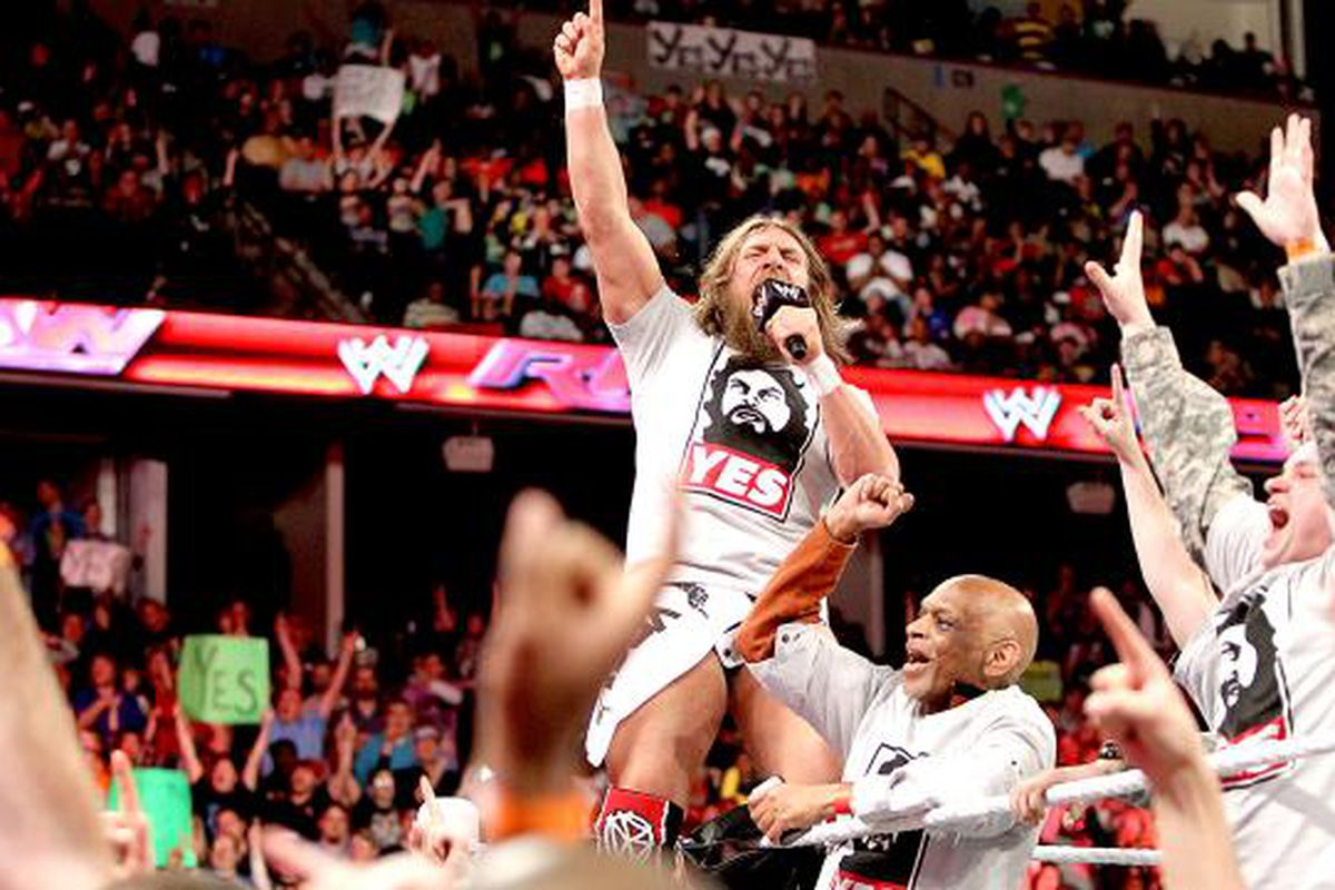 YES! WWE has a new Daniel Bryan shirt for you to wear when ...
