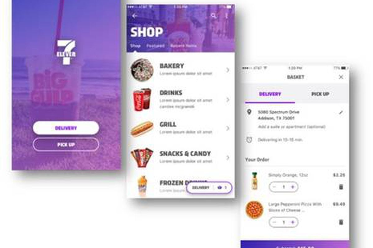 Nearest 711 Store >> 7 Eleven Is Testing A Delivery Service The Verge