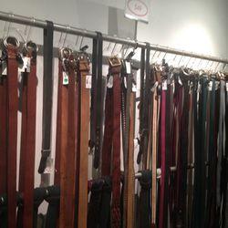Men's Belts, $49