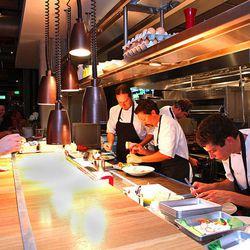 Executive Chef Max MacKissock (left)